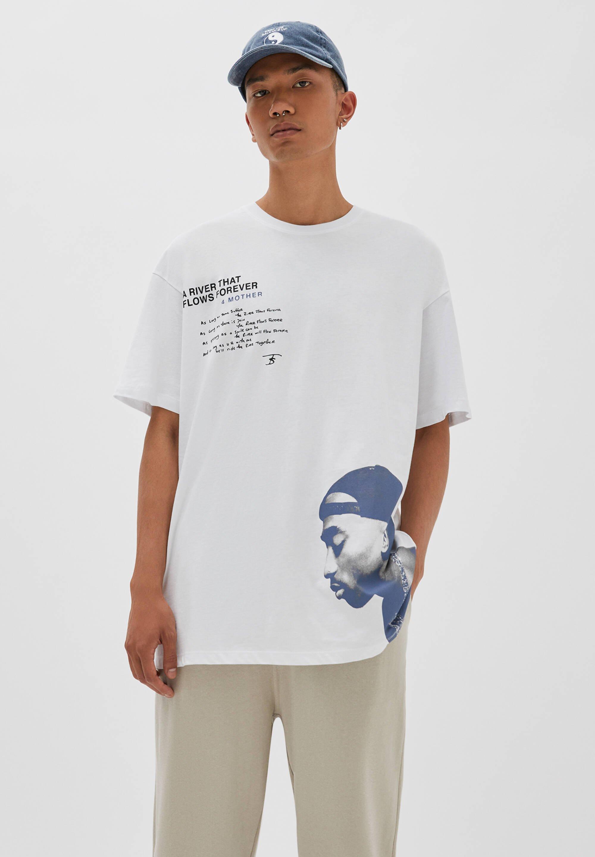 Uomo TUPAC - T-shirt con stampa
