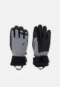 Reusch - EXPLORER PRO RTEX® PCR  - Rękawiczki pięciopalcowe - steel grey/black - 0