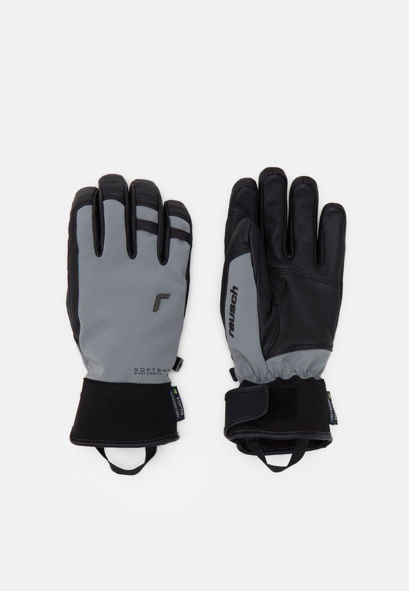 Reusch - EXPLORER PRO RTEX® PCR  - Rękawiczki pięciopalcowe - steel grey/black