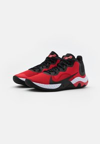 Nike Performance - RENEW ELEVATE - Basketball shoes - university red/black/white - 1