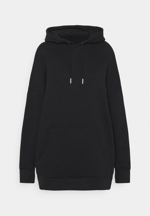 LONG SLEEVE HOODY - Felpa con cappuccio - black