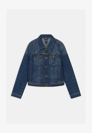 GIRLS UPDATED BASIC - Denim jacket - denim