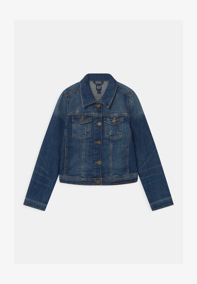 GIRLS UPDATED BASIC - Jeansjacke - denim