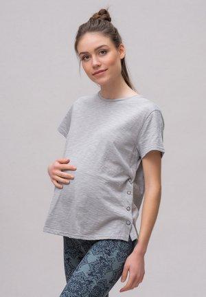 T-shirt basic - sleet