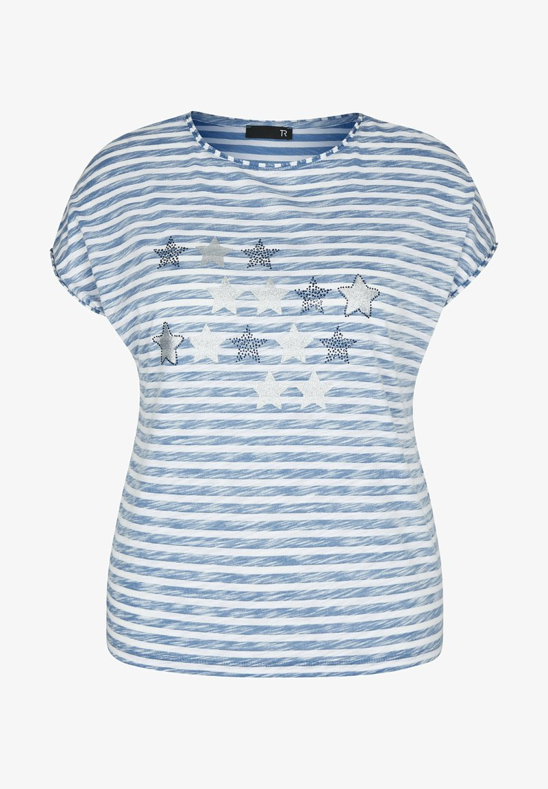 TR - Print T-shirt - blau