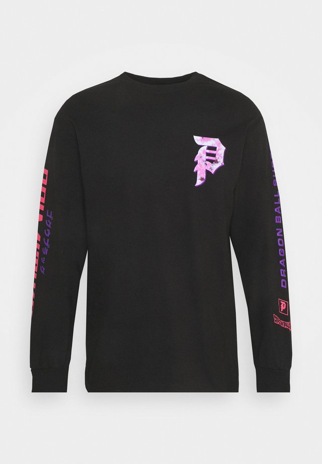 GOKU TEE - Long sleeved top - black