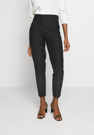SLIM FIT - Kalhoty - black