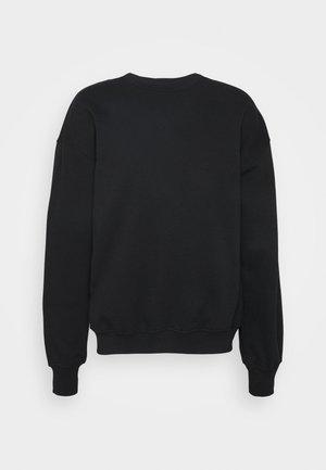 BIG LOOSE CREW UNISEX - Sweatshirt - ensamble/black
