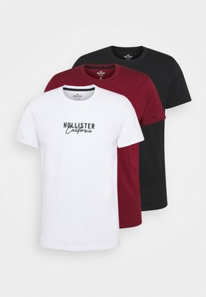 3 PACK - T-shirt imprimé - white