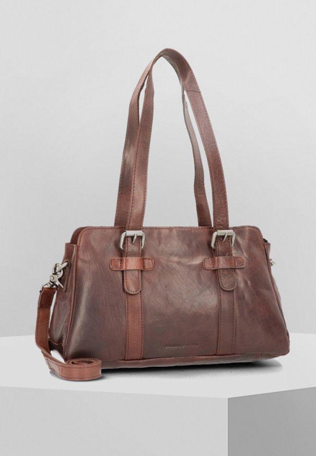 Handbag - darkbrown