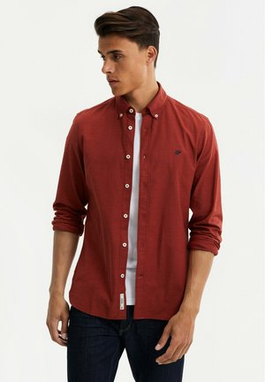 Overhemd - vintage red