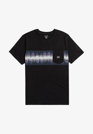 SPINNER  - Print T-shirt - black