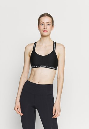 CROSSBACK LOW - Light support sports bra - black