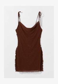 Bershka - Denní šaty - brown - 4