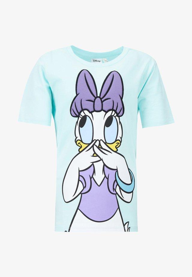 MICKEY & MINNIE (STANDARD CHARACTERS) - Camiseta estampada - turquoise