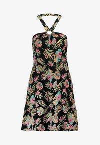 Even&Odd - Day dress - black/pink/blue - 5