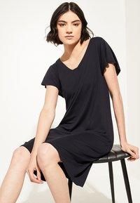 comma casual identity - Jersey dress - marine - 4