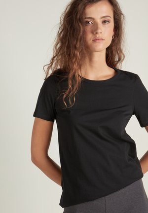 BASIC - Print T-shirt - nero
