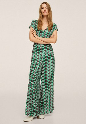 PLEATED DETAILS - Jumpsuit - green