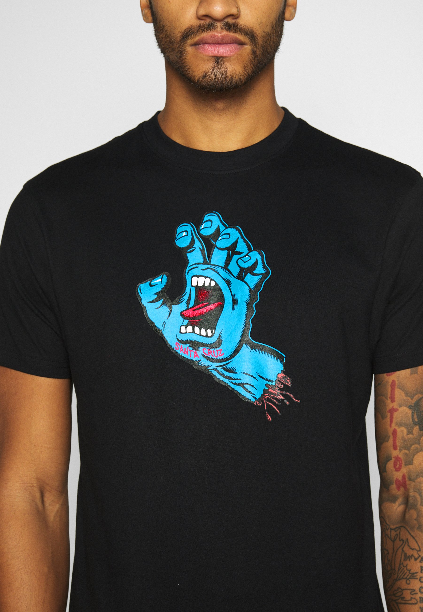 Uomo unisex Screaming hand - T-shirt con stampa
