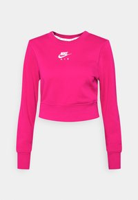AIR CREW  - Sweatshirt - fireberry/white