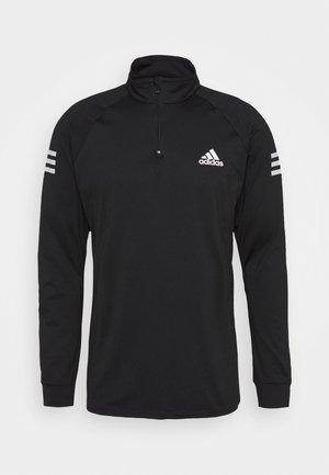TENNIS CLUB SPORTS TRACK  - Long sleeved top - black/white