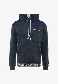 Champion - HOODED  - Hættetrøjer - olive - 3