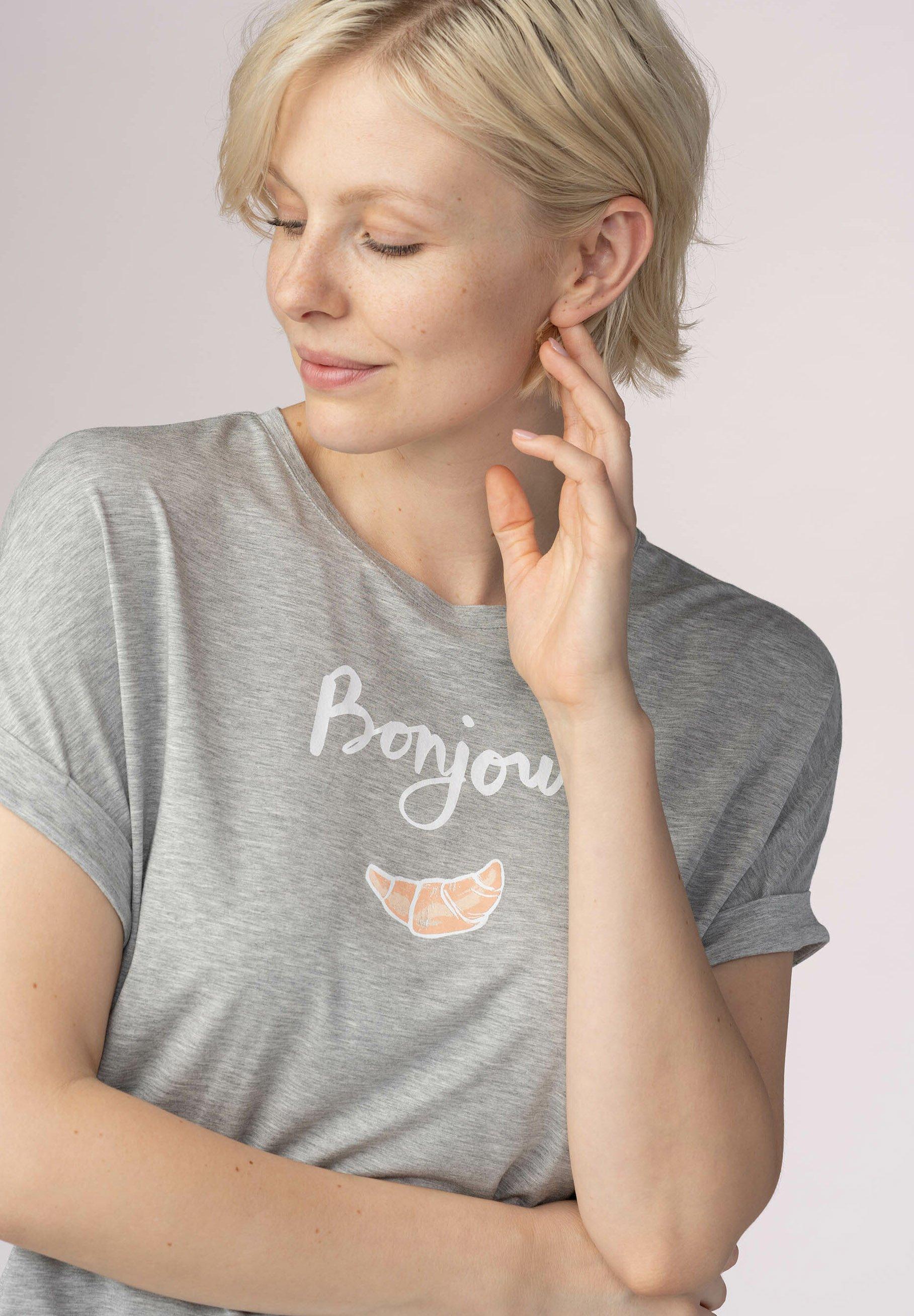 Damen T-SHIRT SERIE SLEEPY & EASY - Nachtwäsche Shirt