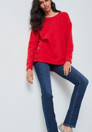 COSY LONGLINE - Jumper - red