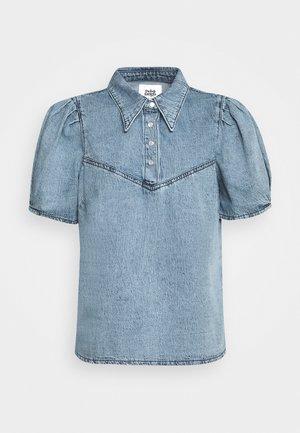 JANET BLOUSE - Button-down blouse - blue stone