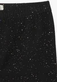 OVS - SPRAY GLITTER - Leggings - black beauty - 3
