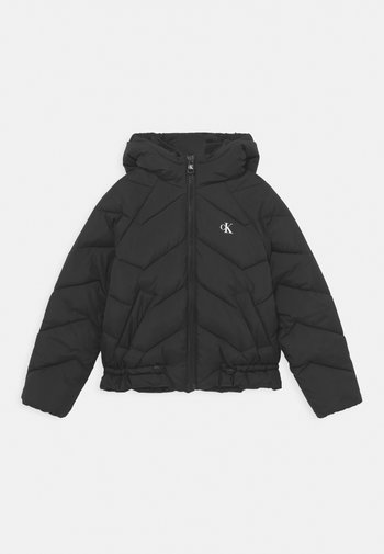 QUILTED PUFFER - Winter jacket - black