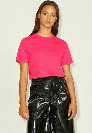 T-shirt basic - bright rose