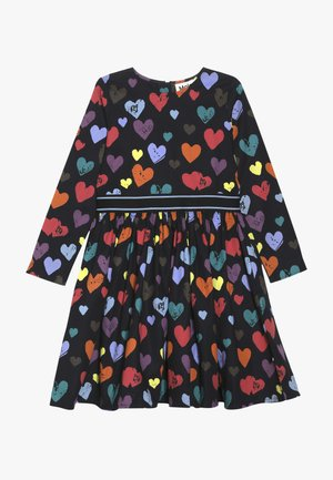 CHRISTIN - Day dress - black/multi-coloured