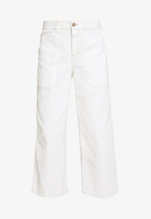 LEYTON - Relaxed fit jeans - ivory