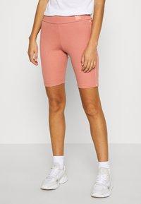 adidas Originals - Kraťasy - ash pink - 0