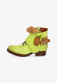 A.S.98 - Cowboy/biker ankle boot - acido - 2