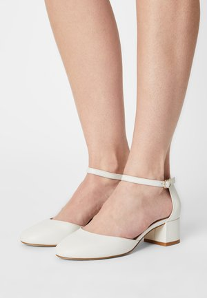 LEATHER - Brautschuh - white