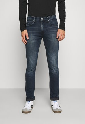 SLIM - Slim fit jeans - blue black