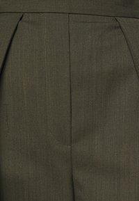 Neil Barrett - HIGH WAISTED ONE PLEAT - Trousers - olive melange - 6