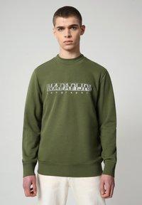 Napapijri - BALLAR - Sweatshirt - green cypress - 0