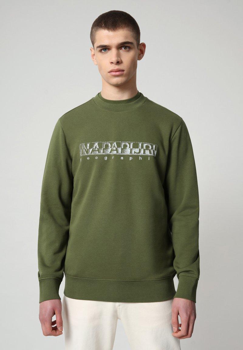 Napapijri - BALLAR - Sweatshirt - green cypress