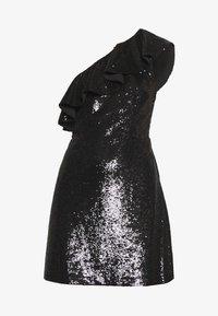 MICHAEL Michael Kors - SEQUIN DRESS - Robe de soirée - black - 5