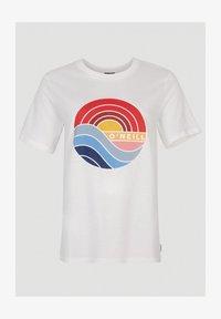 O'Neill - SUNRISE - Print T-shirt - powder white - 2