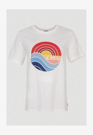SUNRISE - T-shirt imprimé - powder white