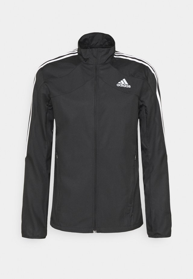 MARATHON - Sports jacket - black/white