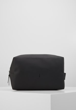 WASH BAG LARGE - Reisezubehör - black
