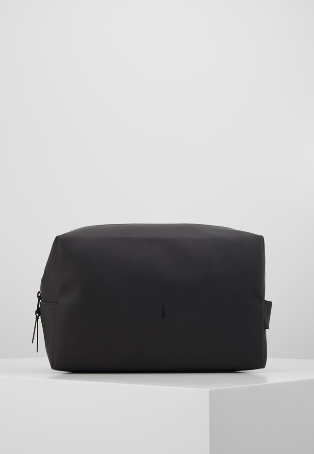 WASH BAG LARGE - Matkatarvikkeet - black