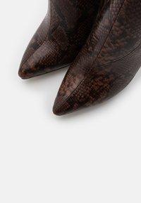 RAID - LAVERNE - High heeled boots - brown - 5