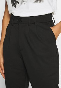 ONLY - PANTS - Trousers - black - 4